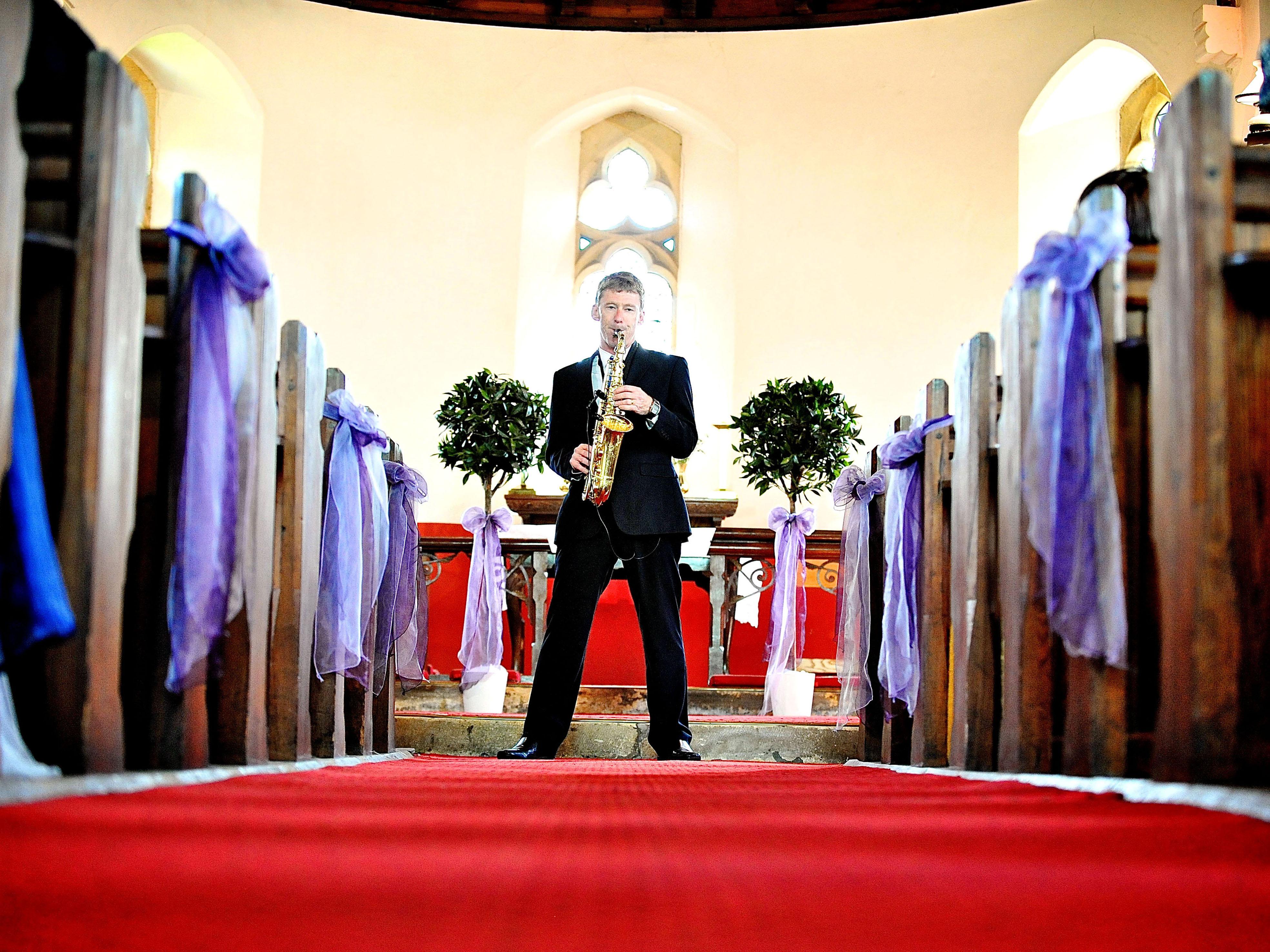 Ceremony Music Wedding Sax Player Matt Stacey Wedding Music Specialist